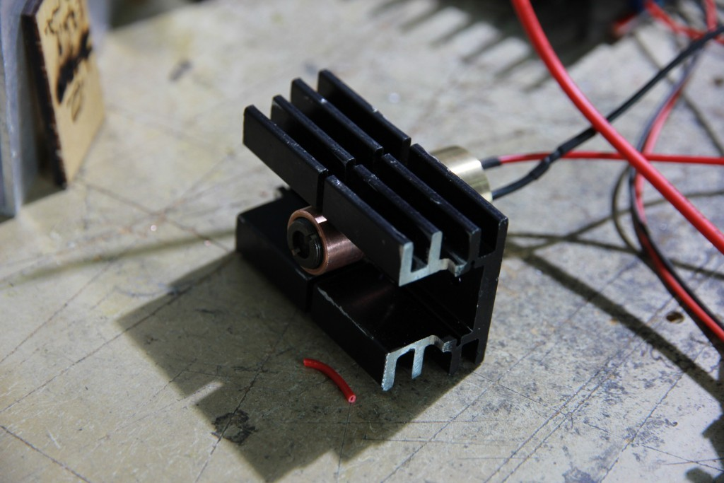 First launch of a brand new 6 watt (6000 mW) diode Endurance laser with 808 nm wavelength (IR spectrum).