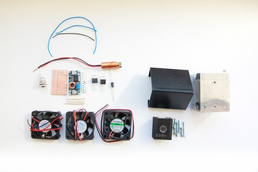 The Endurance laser kit pack. Build your own laser module.