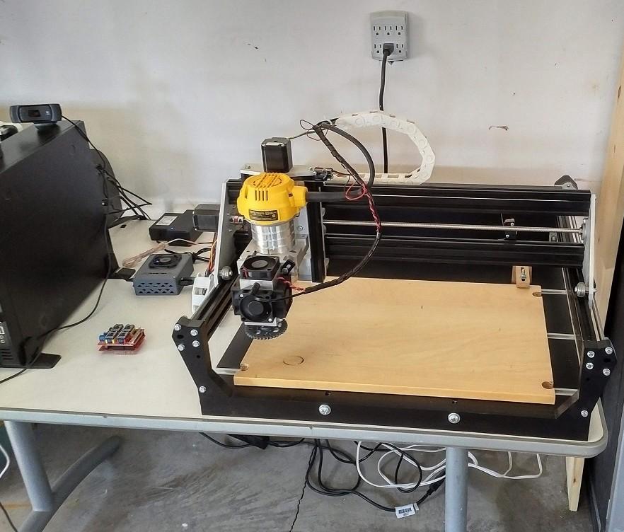 CarveKing CNC machine by Millright