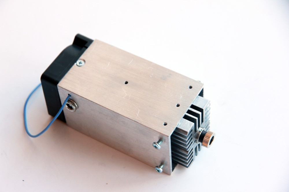 8 watt (8000 mW) solid-state (diode) laser add-on (attachment) for any 3D printer and CNC router.