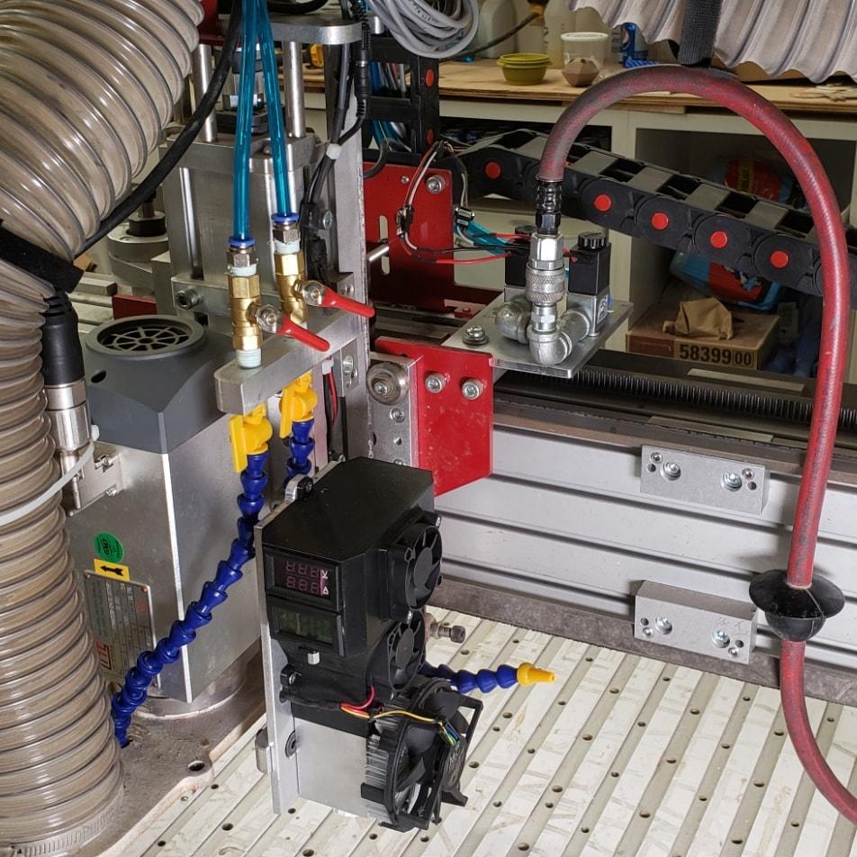 An upgrade on an Endurance 10 watt+ laser (made by Connor Bredin)