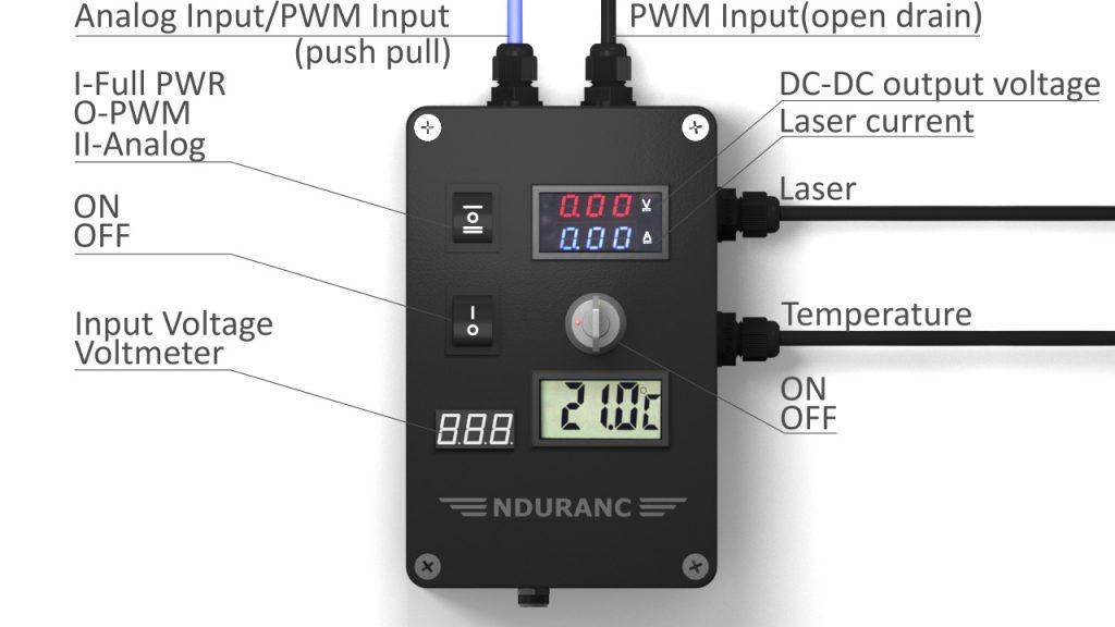 An Endurance Mo2 PCB