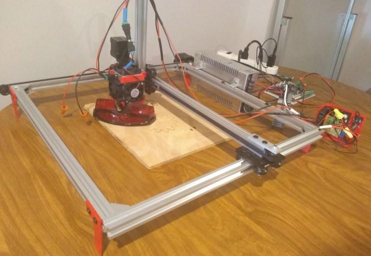 10 watt Laser CNC Machine by Matthew Renner