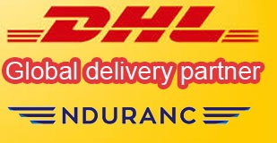 DHL is a global delivery Endurance laser partner