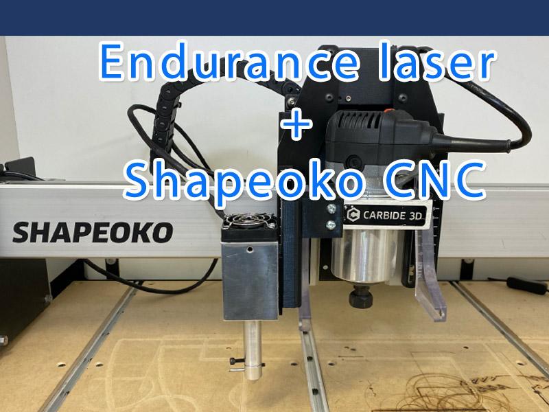 Endurance lasers Shapeoko XXL