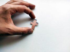 Transparent glass cut