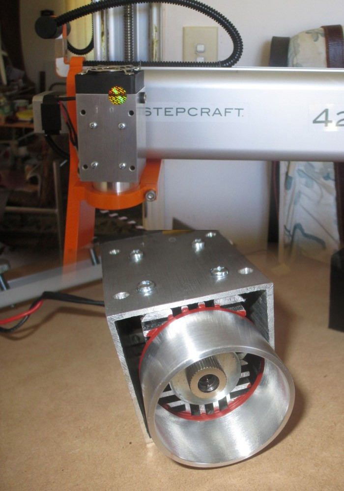 An Endurance laser mount for Stepcraft