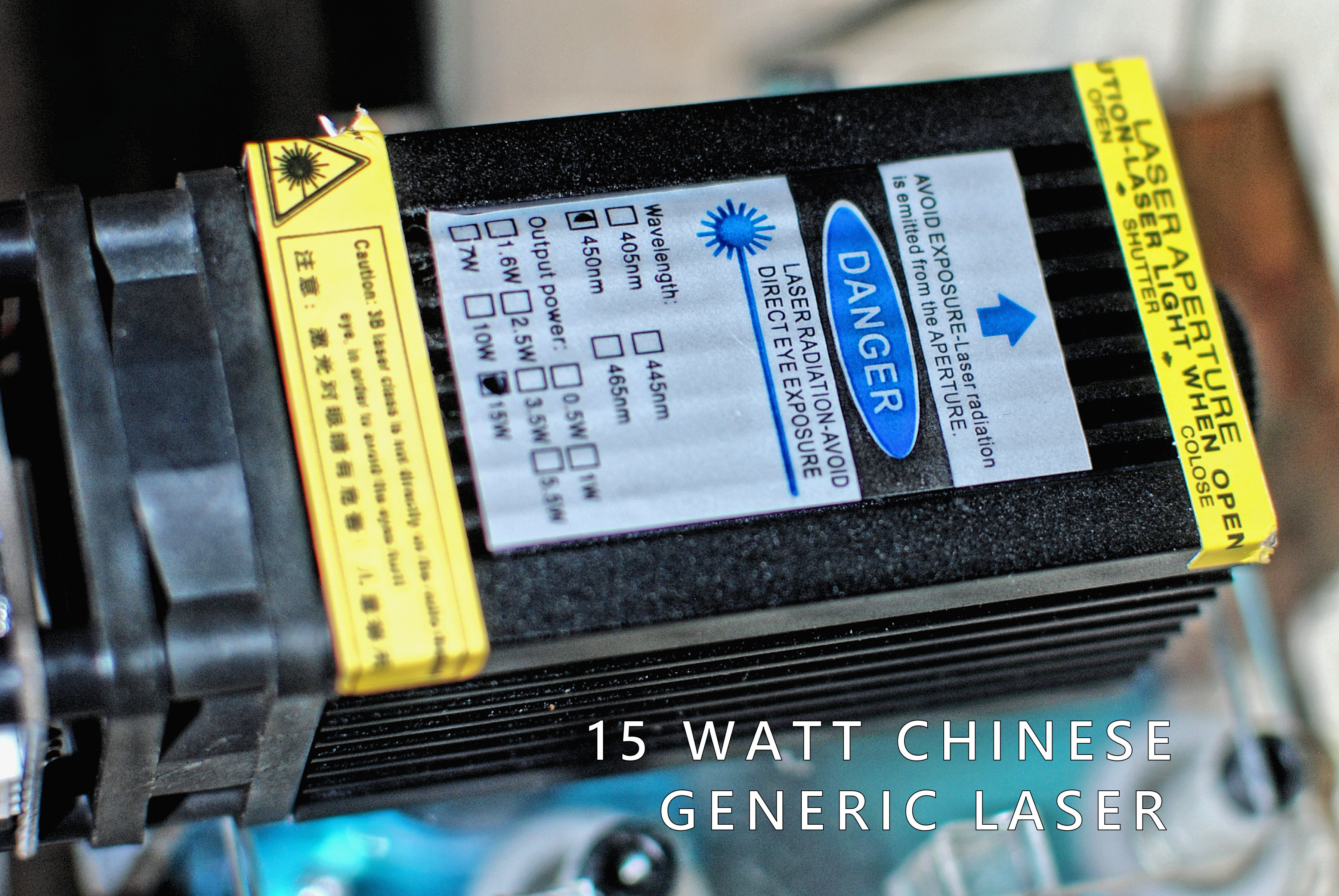 Generic Chinese Lasers (what NOT to do)