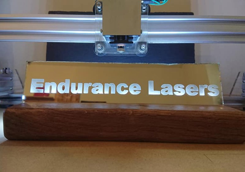 An Endurance laser attachments (add-ons) for your 3D printer and CNC machine. Improve your 3D printer or CNC machine.