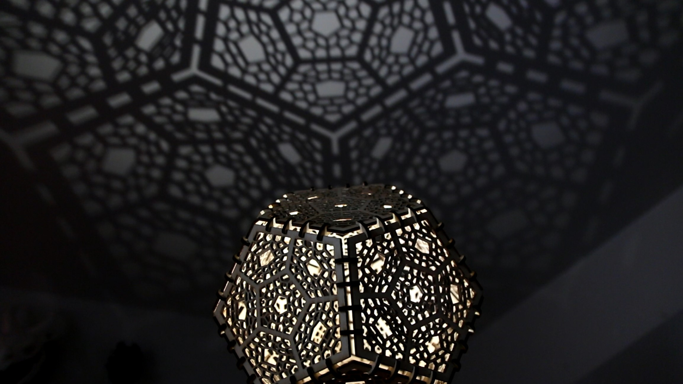 Magnificent Laser Cut Lamp