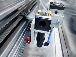 An Endurance 80 watt Custom Co2 Laser Machine with 6x5' (2x1.7 m) working size area