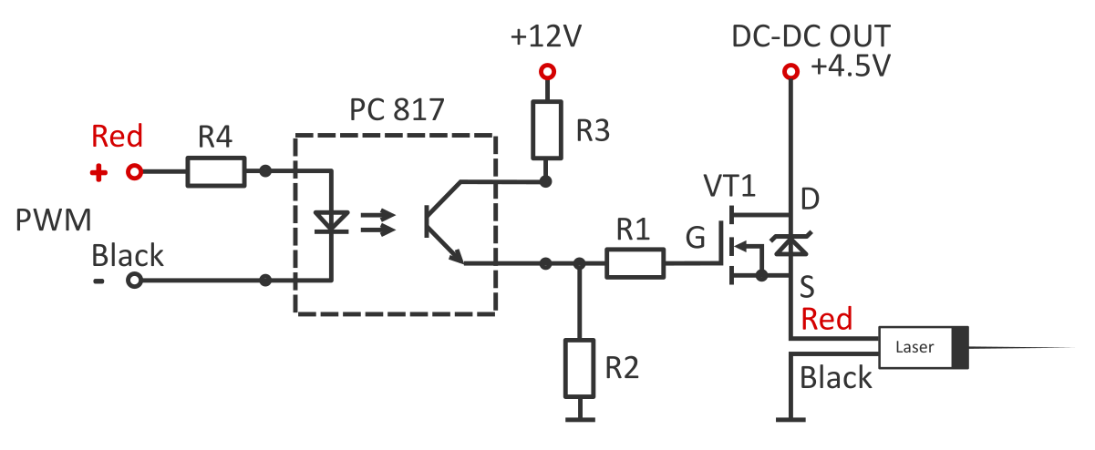 About Endurance MO1 PCB. The driver board to run the laser from external power supply