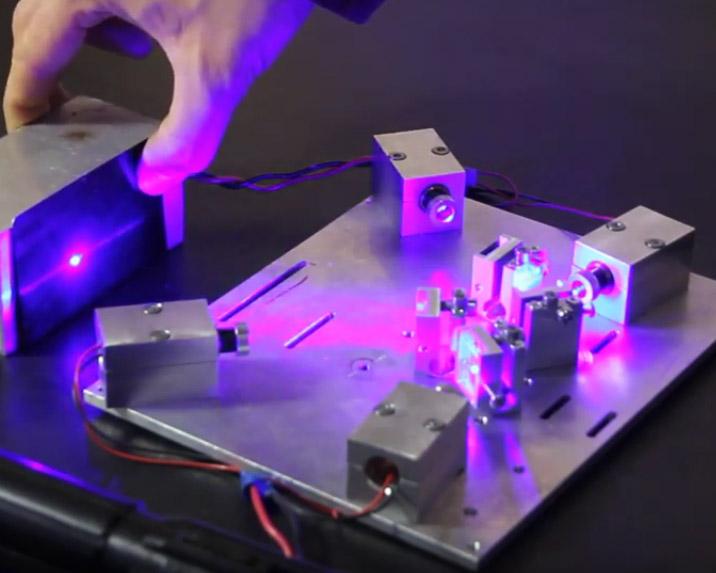 An Endurance quadro laser beam module.
