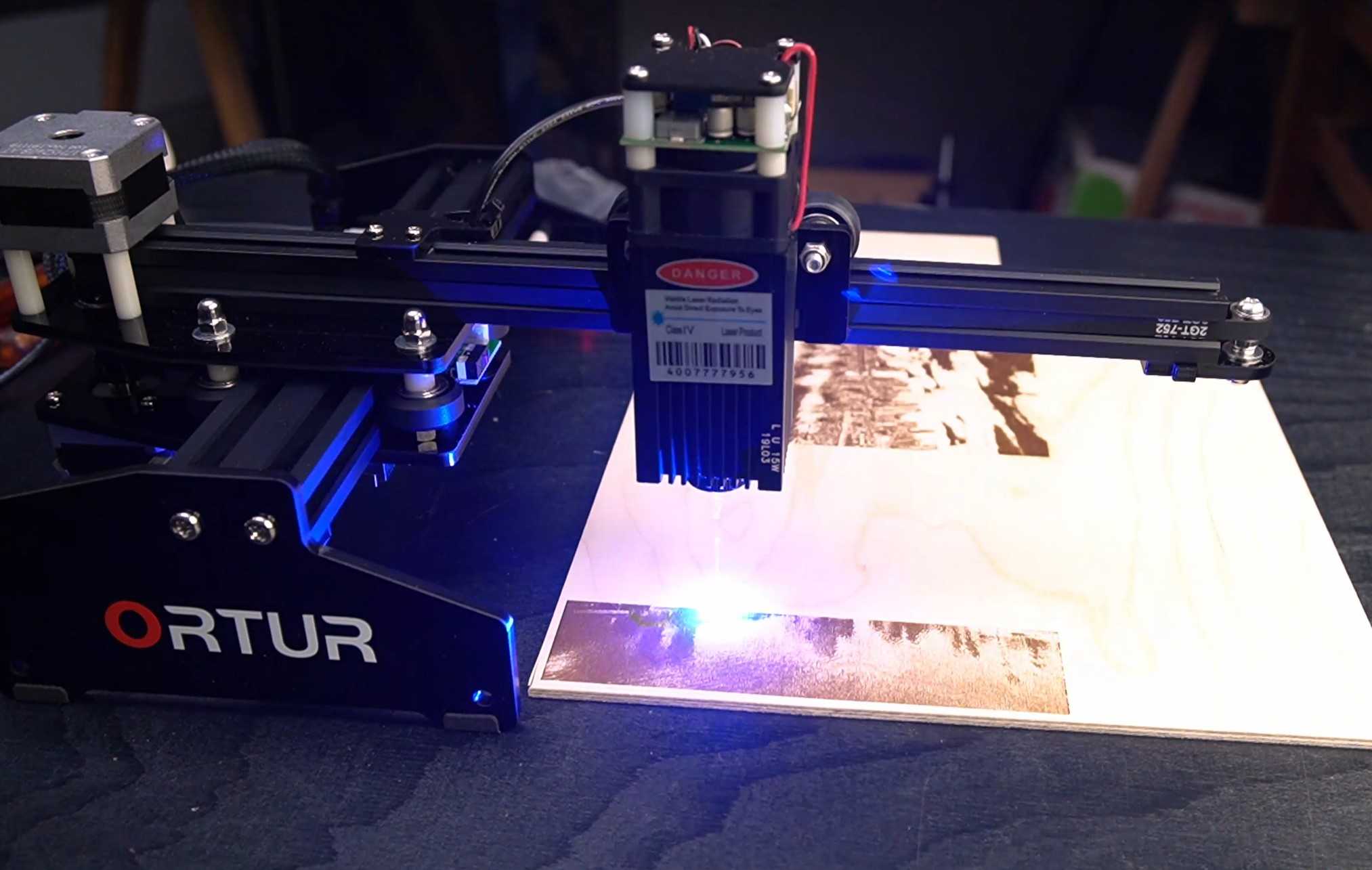 "Chinese ""15W"" Laser Engraver Review"