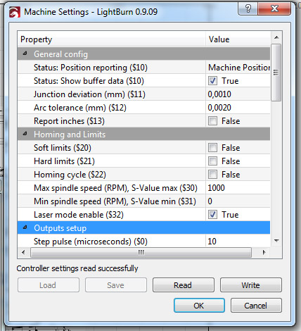 An important things you need to know about GRBL parameters, firmware settings