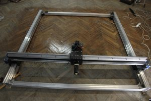 Building a 2x2 meter frame >>> for laser cutting, laser engraving and CNC milling (PDF updated)