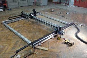 Unassembling/assembling process of 2x2 CNC frame (photo gallery)