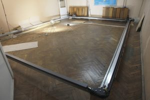 A huge CNC frame 6x4 meter (18x12'). Ultimate laser engraving machine