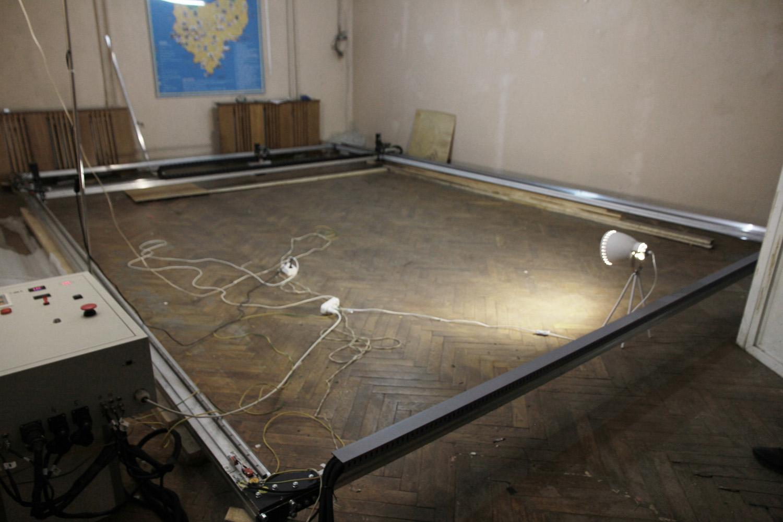 A huge CNC frame 6x4 meter (18x12'). Ultimate laser engraving machine