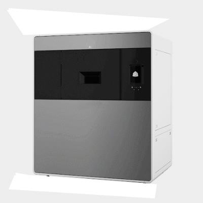 First test of using an Endurance 10 watt laser on a SLS 3D printer