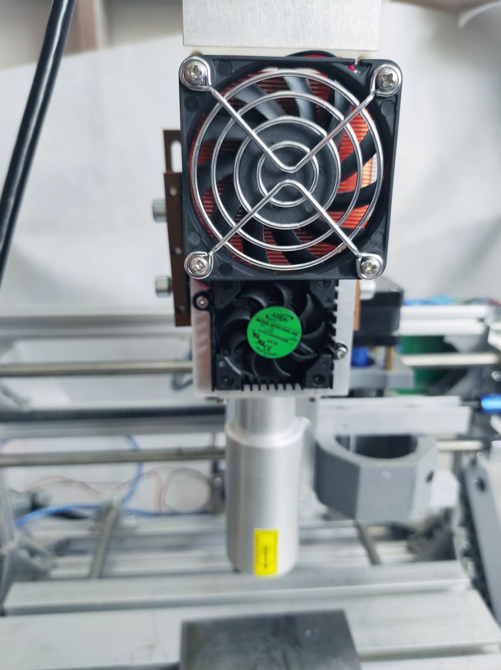 An Endurance 532 nm impulse DPSS laser module