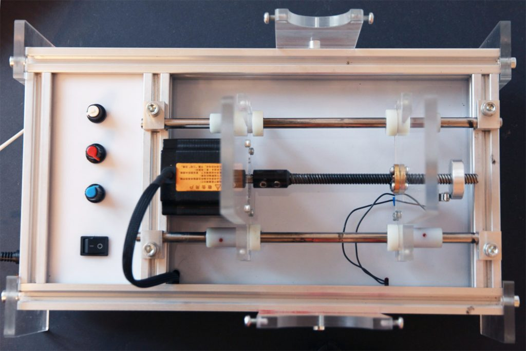 An open-source ventilator for lungs. A robotized the Ambu breathing system. It saves lives.