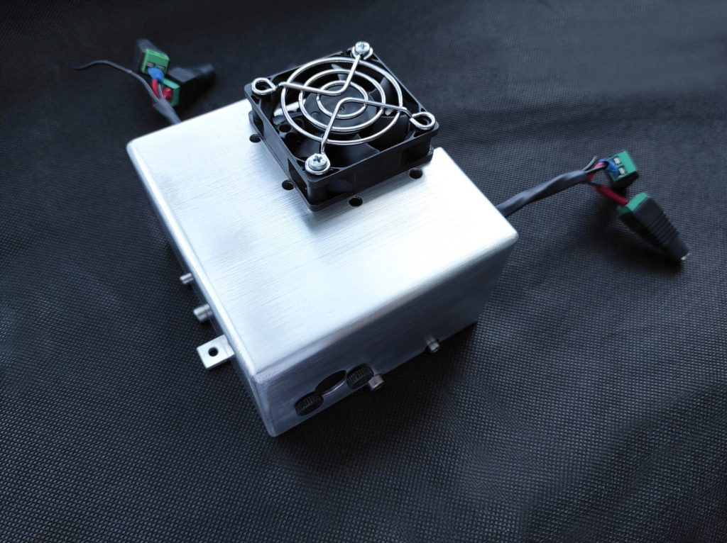 DUOS laser system. 15 watt (15 000 mW) of an optical laser power. Laser head for your 3D printer / CNC machine / engraving machine