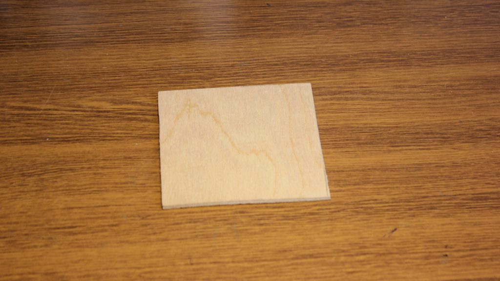 Plywood cutting with G7 & G8 laser lens
