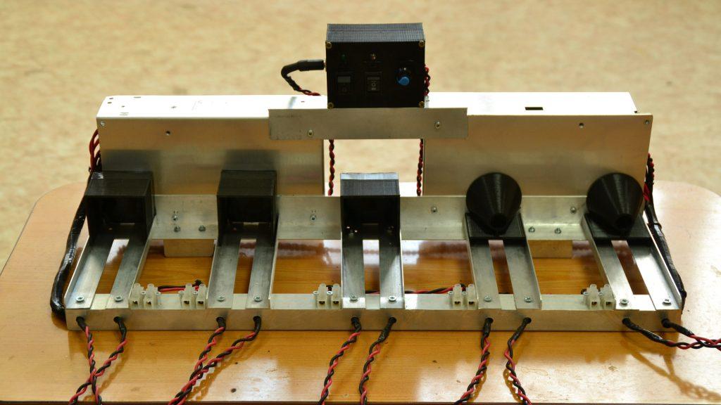 An Endurance laser testing system