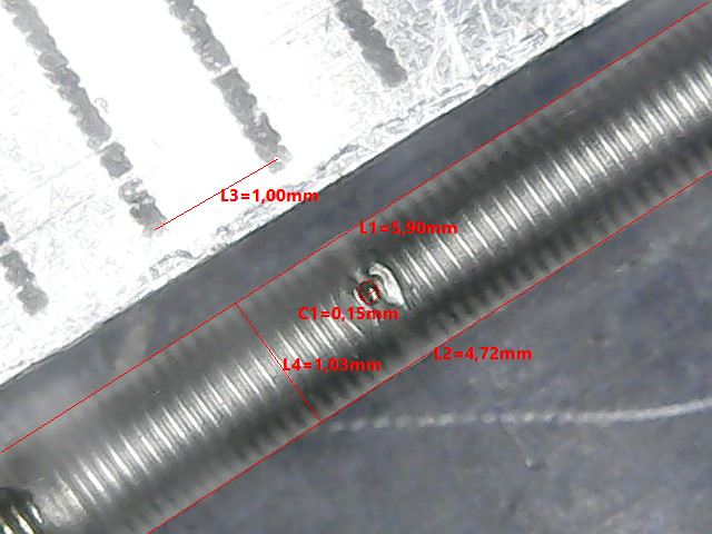High precision laser drilling