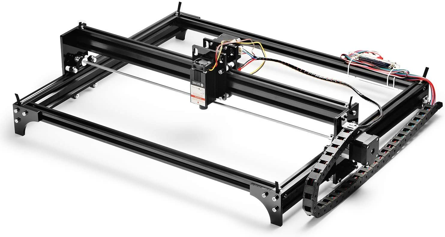 Installing The Laser on Genmitsu le5040 CNC Laser Engraver Machine