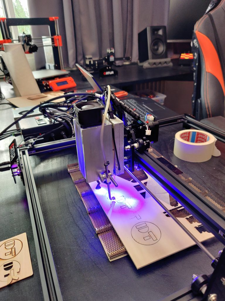 Upgrading the Ortur Laser Master with an Endurance Laser
