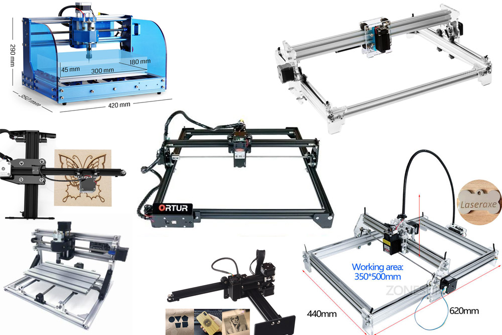 An upgrade kit for your Ortur, Eleksmaker, CNCC Laseraxe, Neje, Insma desktop engraving machine & SainSmart Genmitsu CNC