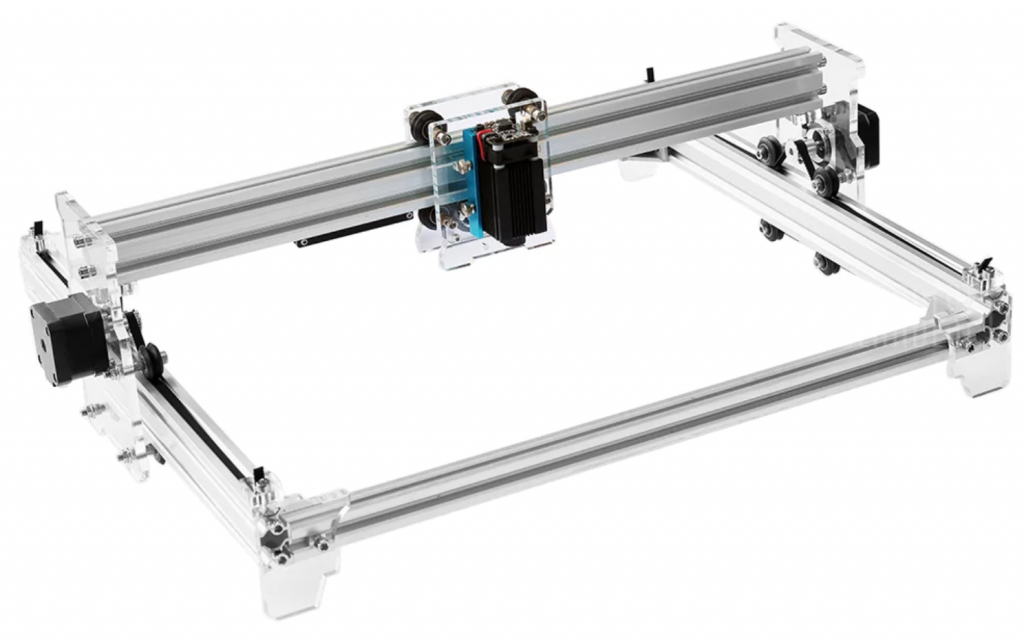 Eleksmaker DIY engraving machine.
