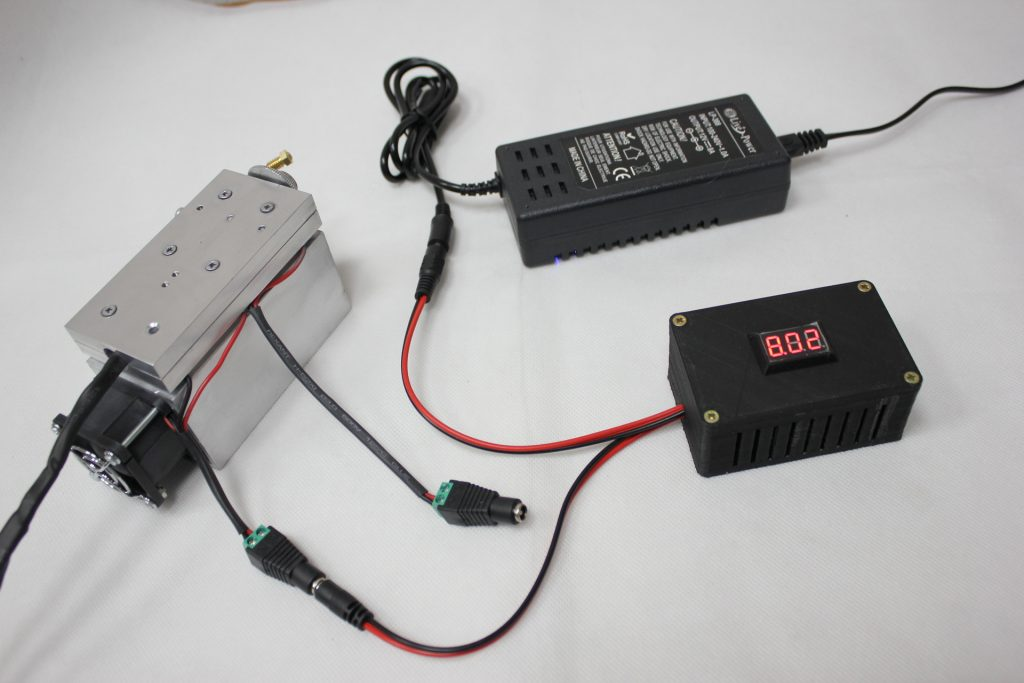 DC/DC for TEC cooling. Reducing TEC cooling power.