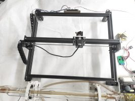 Assemble your own Co2 laser machine (Upgrade your existing engraving frame)
