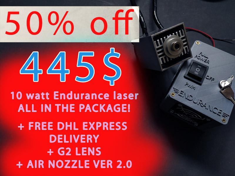 Endurance 10 watt Invincible specials