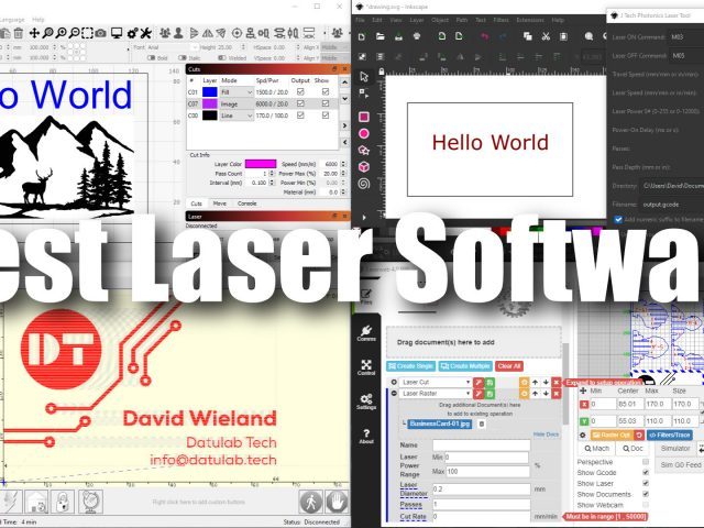 What Laser Software is right for you?