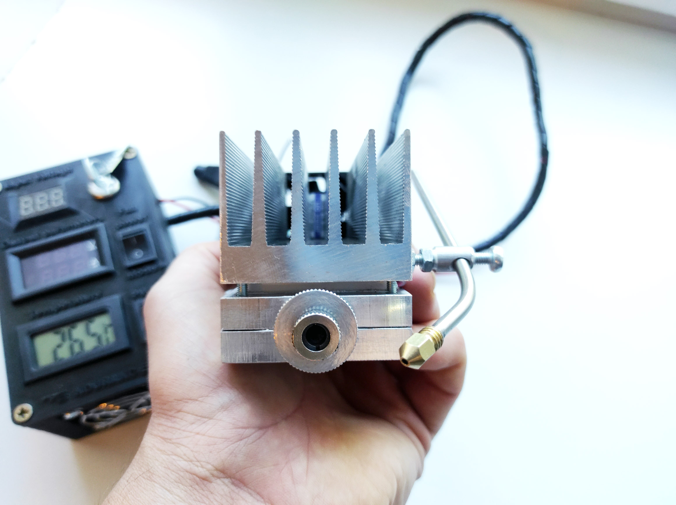 An Endurance 10 watt PLUS SE laser head
