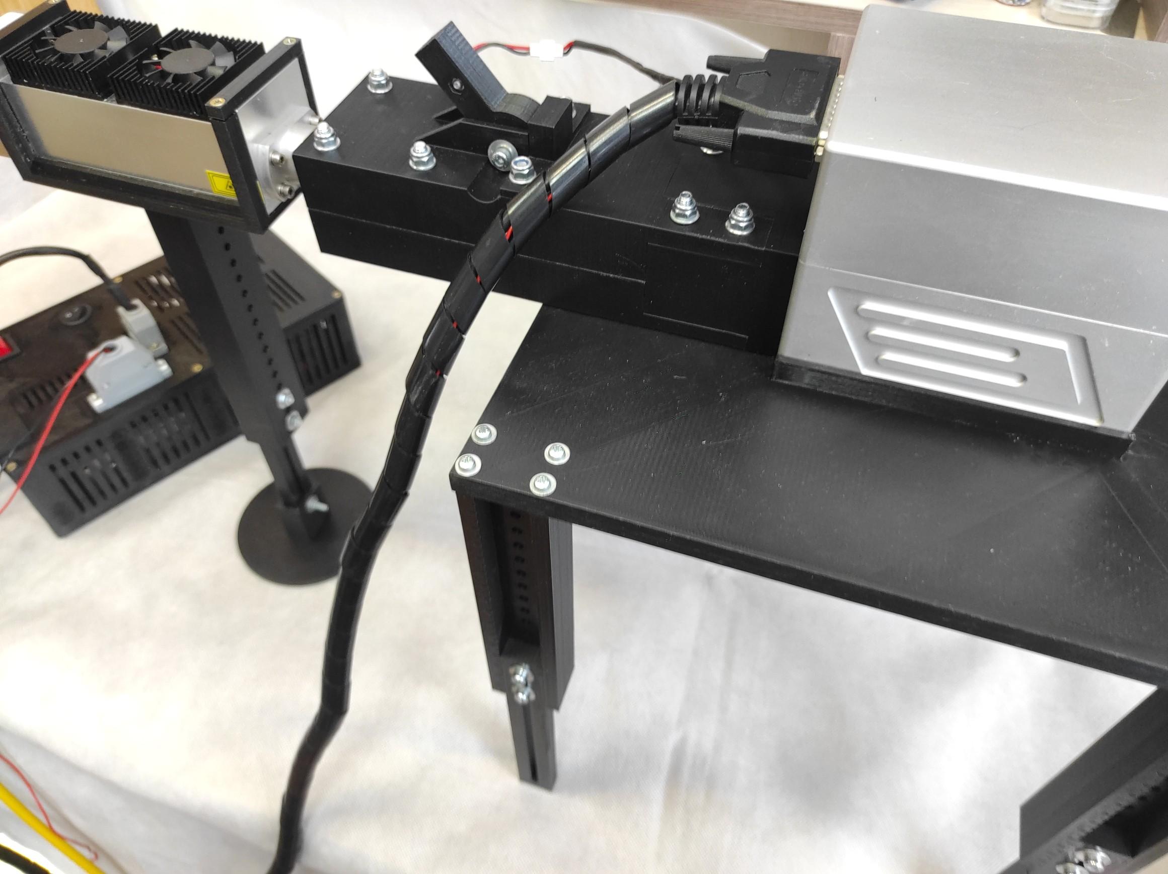 An Endurance DIY galvo marking machine