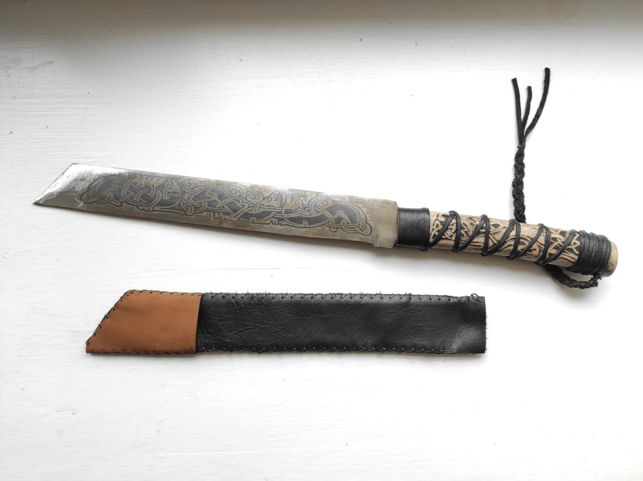A DIY knife